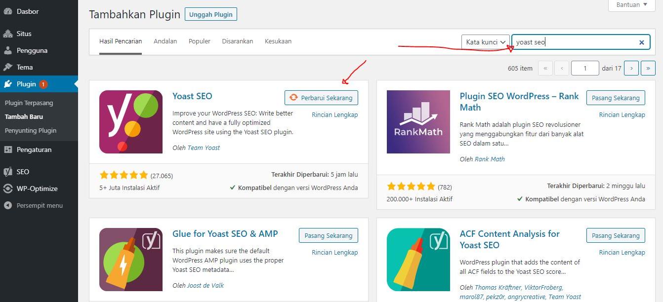 Cara Menggunakan Yoast SEO Untuk Wordpress